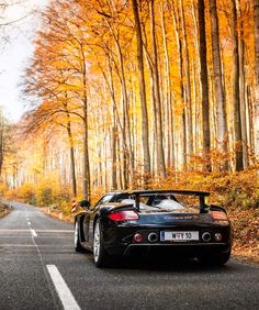 The perfect setting to take a @porsche Carrera GT for a spin @zachbrehl