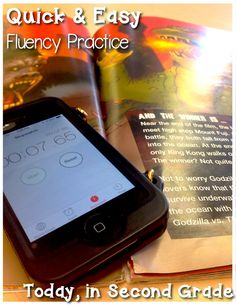 Quick & Easy Fluency Practice (kids would really enjoy this)- they try and beat your time!