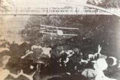 Captain Collett flying under Kingsland Bridge in Shrewsbury, Shropshire. Family History, Shrewsbury Shropshire, Pheasant, Grief, Wales, Bridge, David, Gems, Cottage