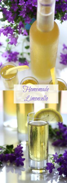 Homemade Limoncello recipe is a wonderful way to utilize lemons from your lemon tree and makes great gifts. Served chilled, it is sweet, slightly tangy and definitely refreshing. My all time favorite liqueur! http://www.thefedupfoodie.com