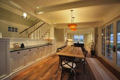 warmington north - traditional - dining room - seattle - by Warmington & North Stair rails
