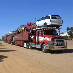 53). Road Train Marla Roadhouse, Australia (March 2002)