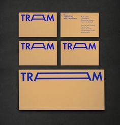 Nice stretchable TRAM logo by Atelier Müesli