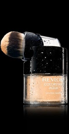 Revlon® ColorStay Aqua™ Mineral Makeup. YOU'VE NEVER FELT MAKEUP LIKE THIS BEFORE. My Shade: LIGHT MEDIUM.