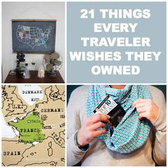 21 Things Every Traveler Wishes They Owned--- yes I wished I owned all of this.