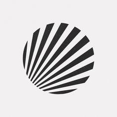 A new geometric and minimal design every day. Geometric Logo, Geometric Designs, Geometric Shapes, Op Art, Lenotre, Plakat Design, Art Optical, Geometry Art, Grafik Design