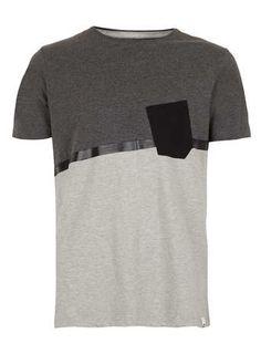 Boxfresh 'Liberato' Grey Marl T-shirt* - Men's T-shirts & Vests  - Clothing