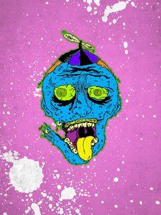 ZOMBIE HEADS by Alberto Moncayo Young, via Behance