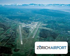 Zurich Airport from above. #Airport #Switzerland