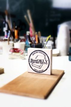 boookly design logo stamp