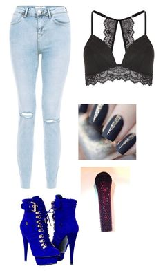 A fashion look from July 2016 featuring light blue jeans, mesh bra and lace-up ankle boots. Browse and shop related looks. Baddie Outfits Casual, Boujee Outfits, Stage Outfits, Trendy Outfits, Girls Fashion Clothes, Teen Fashion Outfits, Mochila Kpop, Shadowhunters Outfit, Riverdale Fashion