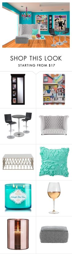 """""""The Girls Basement"""" by lulala002 ❤ liked on Polyvore featuring interior, interiors, interior design, home, home decor, interior decorating, Southern Enterprises, Ella Doran, Winsome and Haute House"""