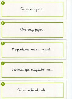 Acabar frases