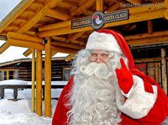 Papai Noel vive na Finlândia