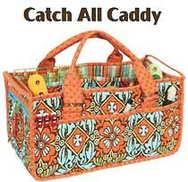 Catch All Caddy Pattern By Annie - Totally handy (and sturdy!) carry all…