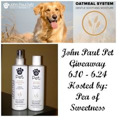 John Paul Pet Giveaway (ends 6/24)