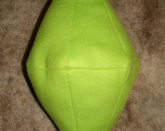 Sims Green PlumbBob Handmade Plush Pillow