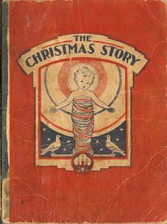Marion Humphreys Matchitt / Christmas Stories VINTAGE KIDS BOOK The Christmas Story by HazelCatkins on Etsy