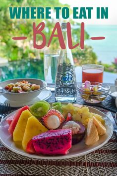 Where to Eat in Bali