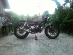 Cafe Racer Garasi Sembilan West Borneo