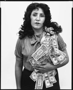 Petra Alvarado, factory worker, El Paso, Texas, on her birthday by Richard Avedon is part of the new show at the Amon Carter Museum of American Art. (The Richard Avedon Foundation) Richard Avedon Portraits, Richard Avedon Photography, San Antonio, Robert Frank, Henry Miller, Humphrey Bogart, Sophia Loren, Street Photographers, Portrait Photographers