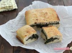 Focaccia con la bietola Spanakopita, Ethnic Recipes, Food, Essen, Meals, Yemek, Eten