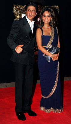 Shah Rukh Khan with wife Gauri Khan