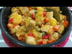 🥘 CARNE CON PATATAS ✅ UN GUISO ECONÓMICO PARA COMER BIEN 👌//BEATRIZ COCINA - YouTube Patatas Guisadas, Fruit Salad, Chicken, Meat, Food, Youtube, One Pot Dinners, Cooking Recipes, Eating Well