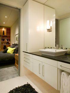 Cabnets. Contemporary | Bathrooms | Alan Hilsabeck Jr. : Designer Portfolio : HGTV - Home & Garden Television