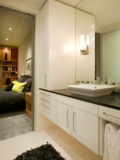 Traditional | Bathrooms | Ami Dahan : Designer Portfolio : HGTV - Home & Garden Television  Cabinetry