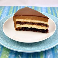 Torta Setteveli - 7 layer cake from Palermo Italy - made of chocolate and hazelnut and named after the Dance of the 7 Veils