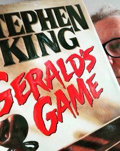 Nineteen days left before the film version hits #netflix.... #stephenking #geraldsgame #reading #dayoff