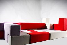 TAT-TRIS MODULAR SEATING FOR CHILDREN. (for children?! This awesome)