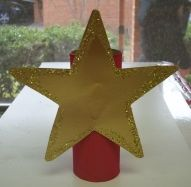 Let the kids make the tree topper ...so cute and easy and how proud they would be! You can precut the star and they decorate and glue to paper tube! Mrs Drakes Class...lovely blog, tons of ideas!