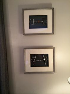 Hunter Jumper Connection Blog - Shadow Box Horse Bit Art