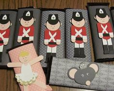 Nutcracker Punch Art candy gifts by starzlmom28 - Cards and Paper Crafts at Splitcoaststampers