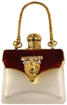 Rucci Red Botella de perfume con forma de bolso