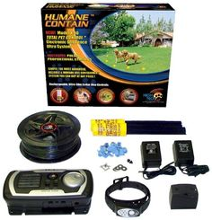 $163.66-$199.99 High Tech Pet Humane Contain X-10 Rechargeable Multi-function Electronic Dog Fence - The Humane Contain Model X-10 rechargeable multi-function electronic dog fence brings you the most advanced electronic fence technology for highly humane and extremely reliable operation. You don't need to guess the appropriate stimulus intensity. This system does not rely on manual stimulus level ...