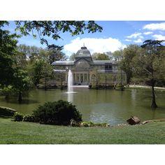 El Parque del Retiro. Nuestra primera cita fue aquí.