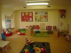 Daycare room decorating ideas home daycare rooms the toddler room is a bright spacious informal room . Daycare Setup, Daycare Design, Daycare Organization, Kids Daycare, Toddler Classroom, Daycare Crafts, Daycare Ideas, Toddler Teacher, Daycare Forms