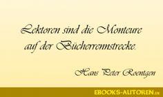 Zitat Hans Peter Roentgen