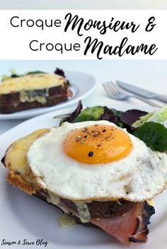 Croque Monsieur & Croque Madame | Brunch Recipes | Breakfast Recipes | French | Season & Serve Blog Brunch Recipes, Breakfast Recipes, French Sandwich, Sandwiches, Tasty, Healthy Recipes, Blog, Croque Monsieur, Healthy Eating Recipes