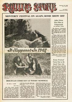 Rolling Stone Cover of Janis Joplin
