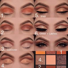 tep by Step using Евгений Худин Huda Beauty palette in TOPAZ lashes are Bridget al. - tep by Step using Евгений Худин Huda Beauty palette in TOPAZ lashes are Bridget also from Huda Beauty - Huda Beauty Eyeshadow, Huda Beauty Makeup, Makeup 101, Makeup Guide, Makeup Inspo, Makeup Inspiration, Makeup Ideas, Daily Inspiration, Make Up Designs
