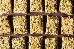 Five Minute, No-Bake Vegan Granola Bars recipe from Food52