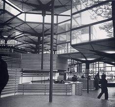 Spain Pavilion,Brussels World's Fair, 1958, by Corrales & Molezún