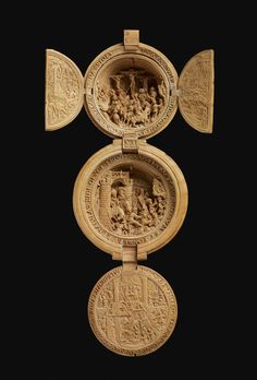 Intricately Carved Prayer Nut Rosary Bead. Prayer nuts served as a kind of luxury Rosary bead for pious (and wealthy) Northern Europeans during the 16th century according to Laughing Squid.