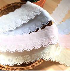 embroidered cotton lace 1yard width 6cm 40817-3 por cottonholic