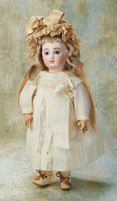 Very Rare French Bisque Bebe, Series G, by Jules Steiner 2500/3500