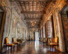 Corridors of power. by Fabio Cecchin, via 500px